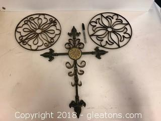 Nice Metal Wall Accent Pieces (3)