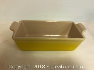 Le Creuset Soleil Yellow Loaf Pan (A)