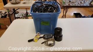 Lot Of Misc. Chords & Cables