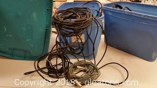 Lot Of Audio Cables