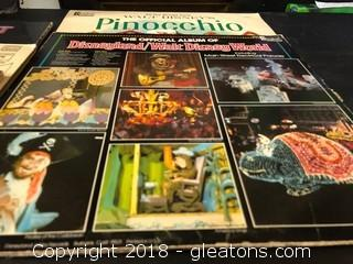 Disney Music Record Lot