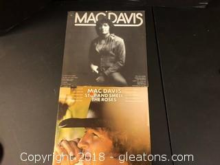Mac Davis Music Record Lot