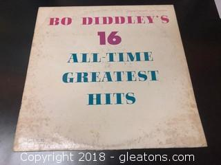 Bo Diddley's 16 All Time Greatest Hits
