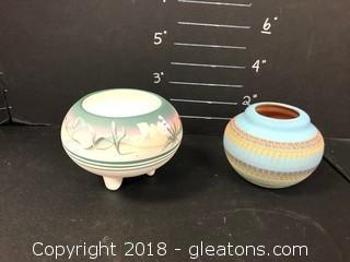 Southweslem Hand Painted Pottery