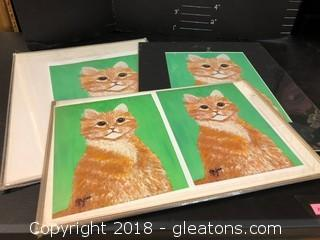 Lot Of Tabby Prints