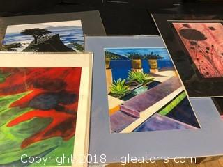 Lot Of Local Artist Prints Lot A (6 Prints)