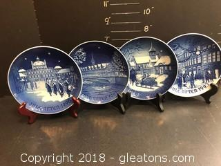Collection Of Royal Copenhagen Plates, 1990's