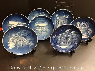 Royal Copenhagen Collection Of  Plates, 1980's