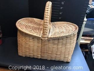 Nice Decorative Picnic Basket