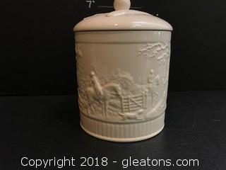 Wedgwood Cookie Jar 6""