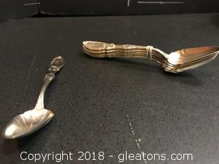 1846 Rogers Xll Set Of Spoons