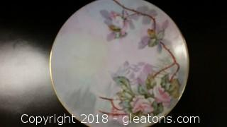 Dessert Plate Rimmed In Gold Style- Stamped Bavaria
