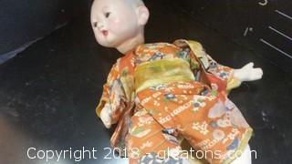 Chinese Dolls- Ornate- In Kimono