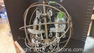 Farmhouse Chandelier 17""