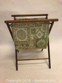 Knitting Caddy Vintage, Foldup