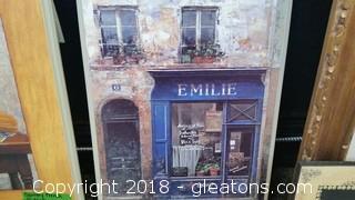 Plaque Emilie