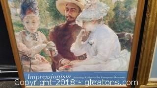 Denver Art Museum Framed Poster Impressionism