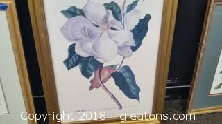 Magnolia- 33 Gilded Frame