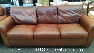 American Leather Company Sofa - Premium Leather in Great Condition