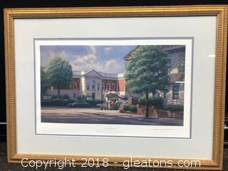 "John Morton Barber Signed And Numbered 390/950 ""On The Boulevard"""