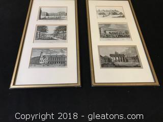 Historical German Landmarks Pictures x2