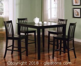 Ashland 5 Piece Counter Height Dining Set