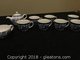 Johnson And Bros Tea Set