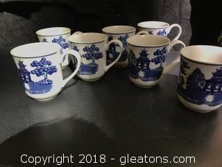 Johnson Bros Large Mugs x7