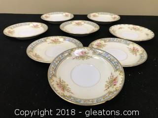 Noritake China Set Of 8 Mini Plates