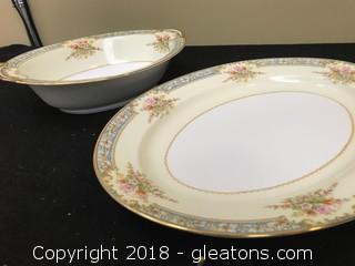 Set Of Noritake Dinner Platters/Servers