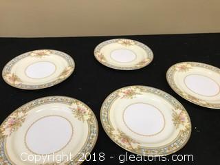 Lot B Of Noritake Mini Plates