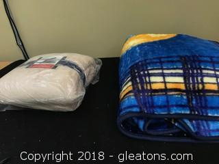 Set Of Fleece Blankets