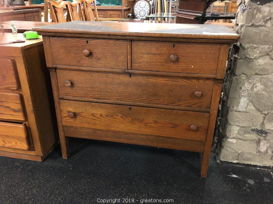 Adorable Oak Dresser 3 Drawer  Real Deal! Petite