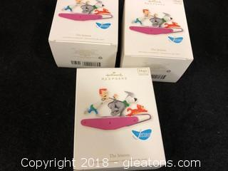 Lot Of 'The Jetsons' Hallmark Ornaments