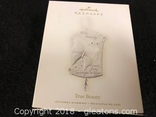 """True Beauty"" Hallmark Ornament"