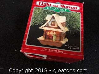 """Last Minute Hug"" Light Motion Ornament"