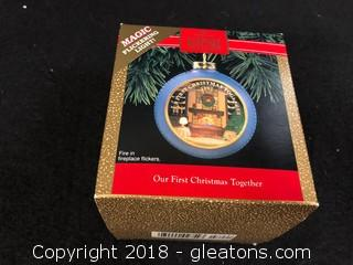 """Our First Christmas Together"" Hallmark Ornament"