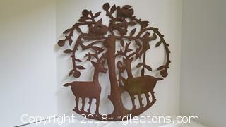 Hand Forged Metal Wall Art