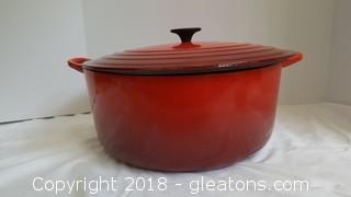 Ex-Large 13¼ Ot. Deep Le Creuset Dutch Oven