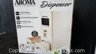 New In Box Aroma Rice+Bean Dispenser+