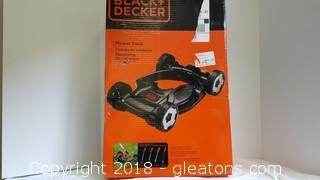 New In Box Mower Deck Black+Decker