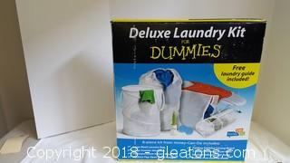 """Deluxe Laundry Kit For """"Dummies"""" New In Box"""