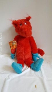"""""""Dr. Seuss"""" Stuffed Animal Fox In Socks"""