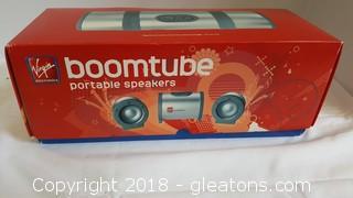 New In Box Portable Speaker Boomtube By Virgin Electronics