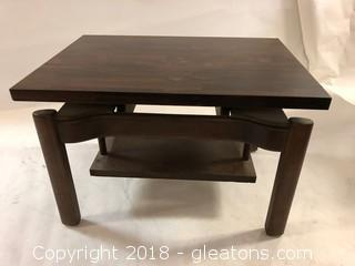 MID CENTURY Rosewood Side Table LOT A