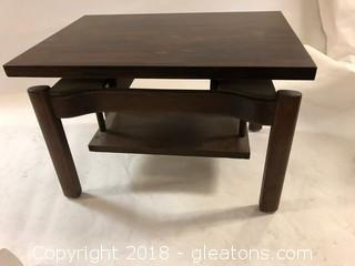 MID CENTURY Rosewood Side Table LOT B