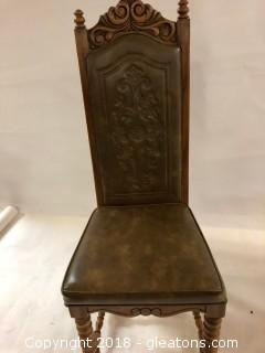 Stanley Furniture Side Chair GREAT DETAIL LOT C