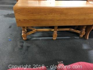 Adorable Table - Fold Down Drawer Leaf