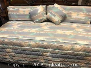 Cute Wrought Iron- Daybed- Bedding Included