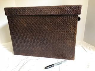 Woven Basket Box